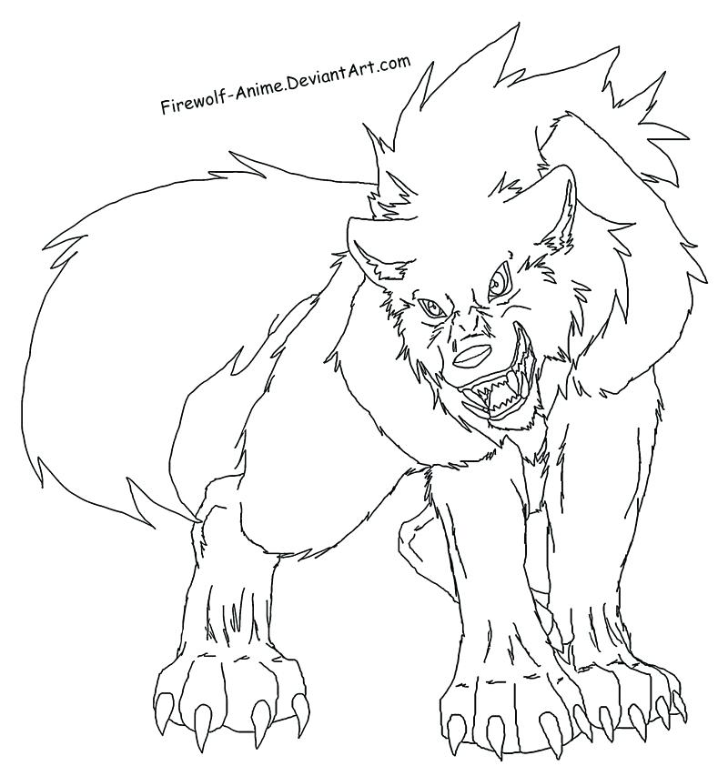 800x853 Coloring Pages Of Wolves Plus Wolf Fighting Page