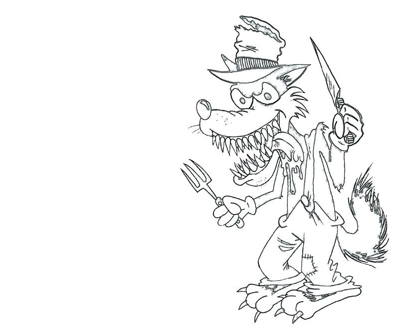 800x667 Big Bad Wolf Coloring Page Big Bad Wolf Coloring Page Beautiful