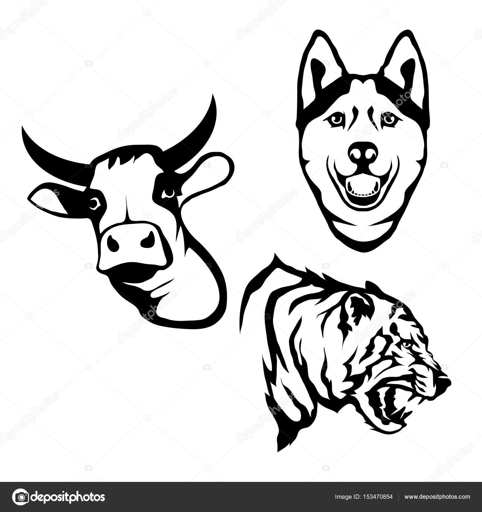 1600x1700 Wolf Head Logos Stock Vectors, Royalty Free Wolf Head Logos