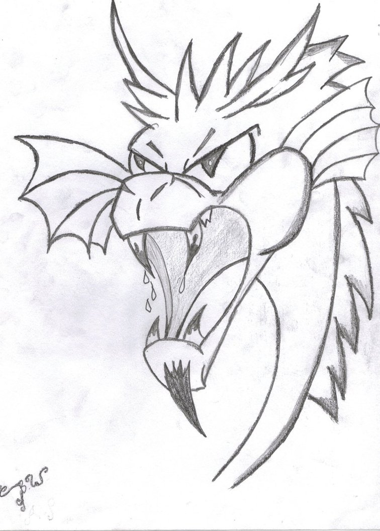 756x1056 Dragon Head By Wolf Pack Leader