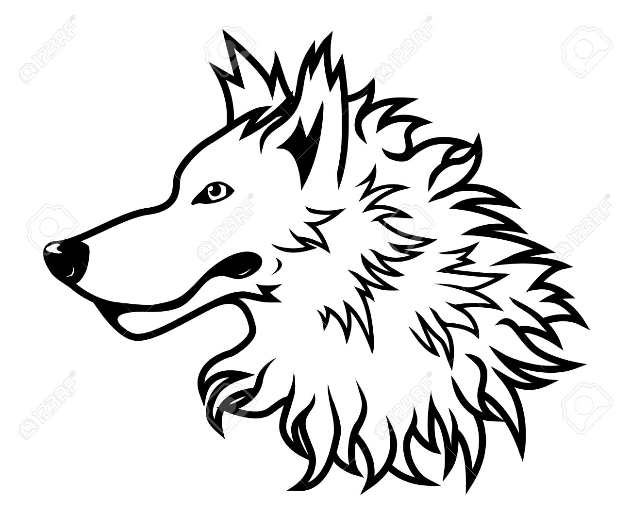 Wolf Pictures Drawing At Getdrawings Com Free For Personal Use