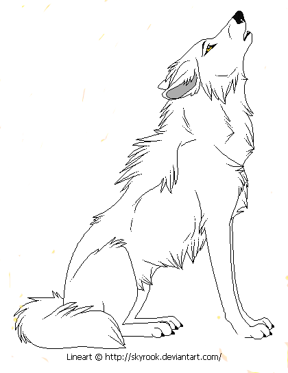 Wolf Puppy Drawing At Getdrawings
