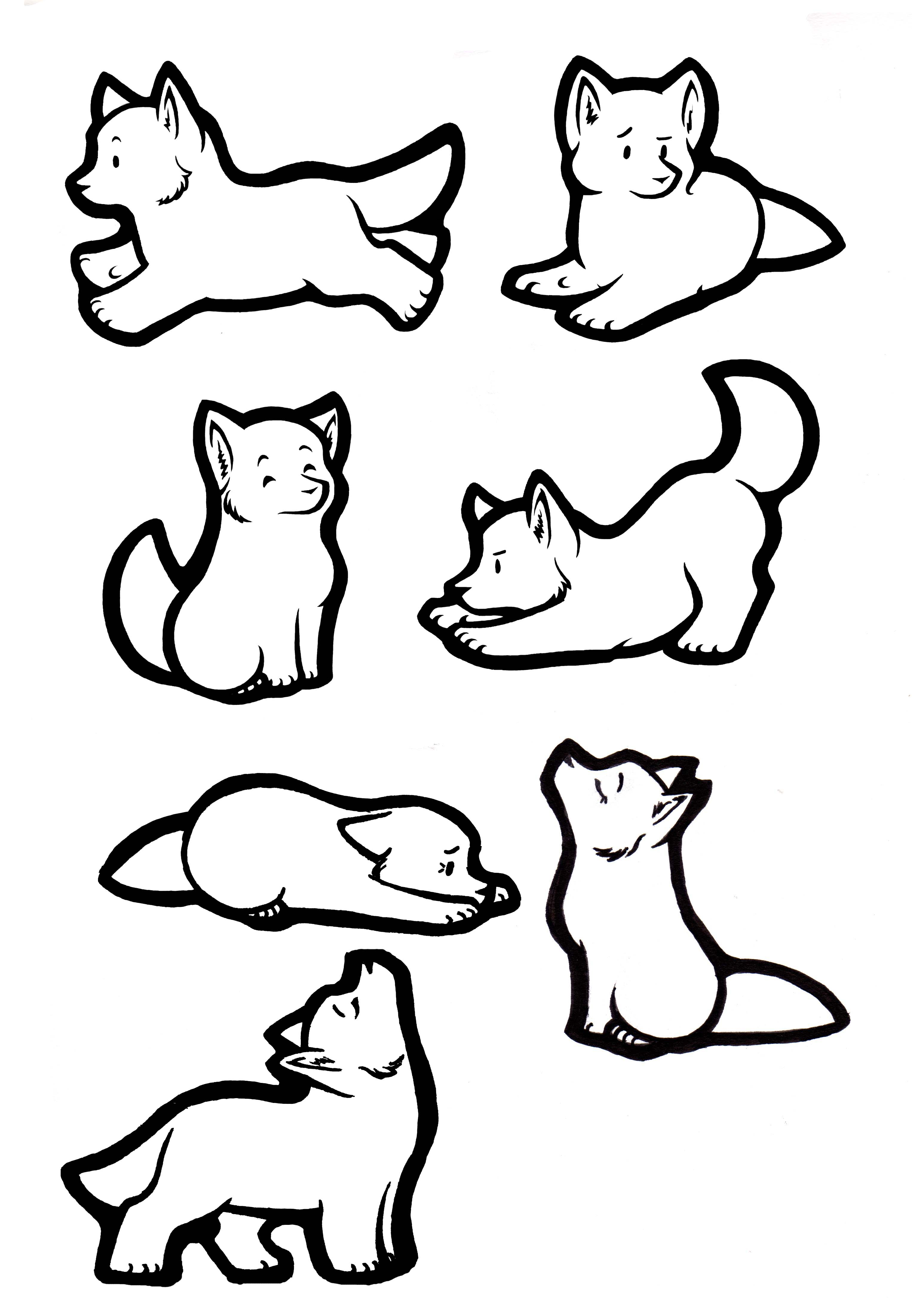 3053x4404 How To Draw A Wolf Pup Step By Step Tutorial. Download. Full Size