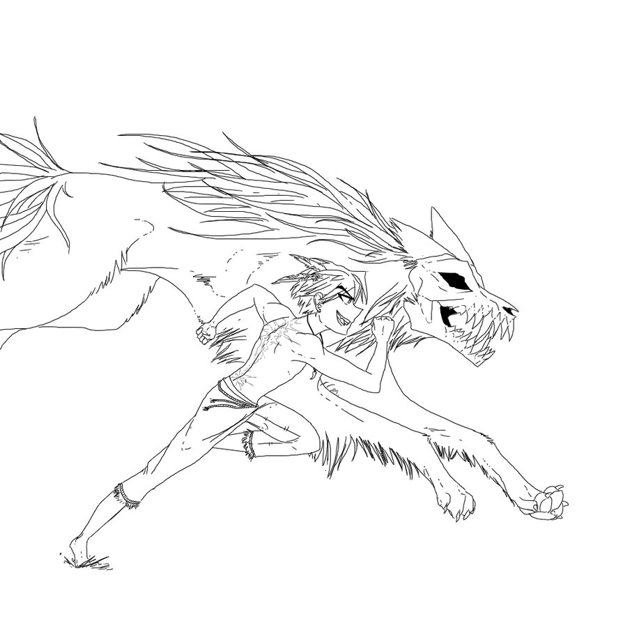 894x894 Running with the wolves by Ipku on DeviantArt