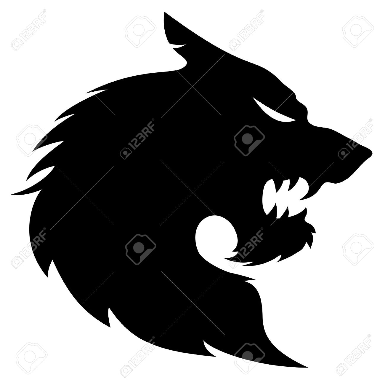 1300x1281 Vector Wolf Silhouette Royalty Free Cliparts, Vectors, And Stock