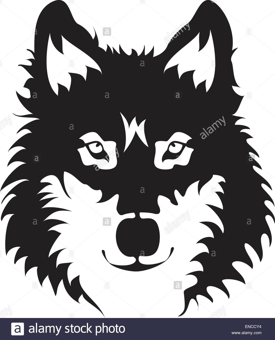 1126x1390 Wolf Face Silhouette Stock Vector Art amp Illustration, Vector Image
