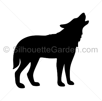 336x334 Wolf Silhouette