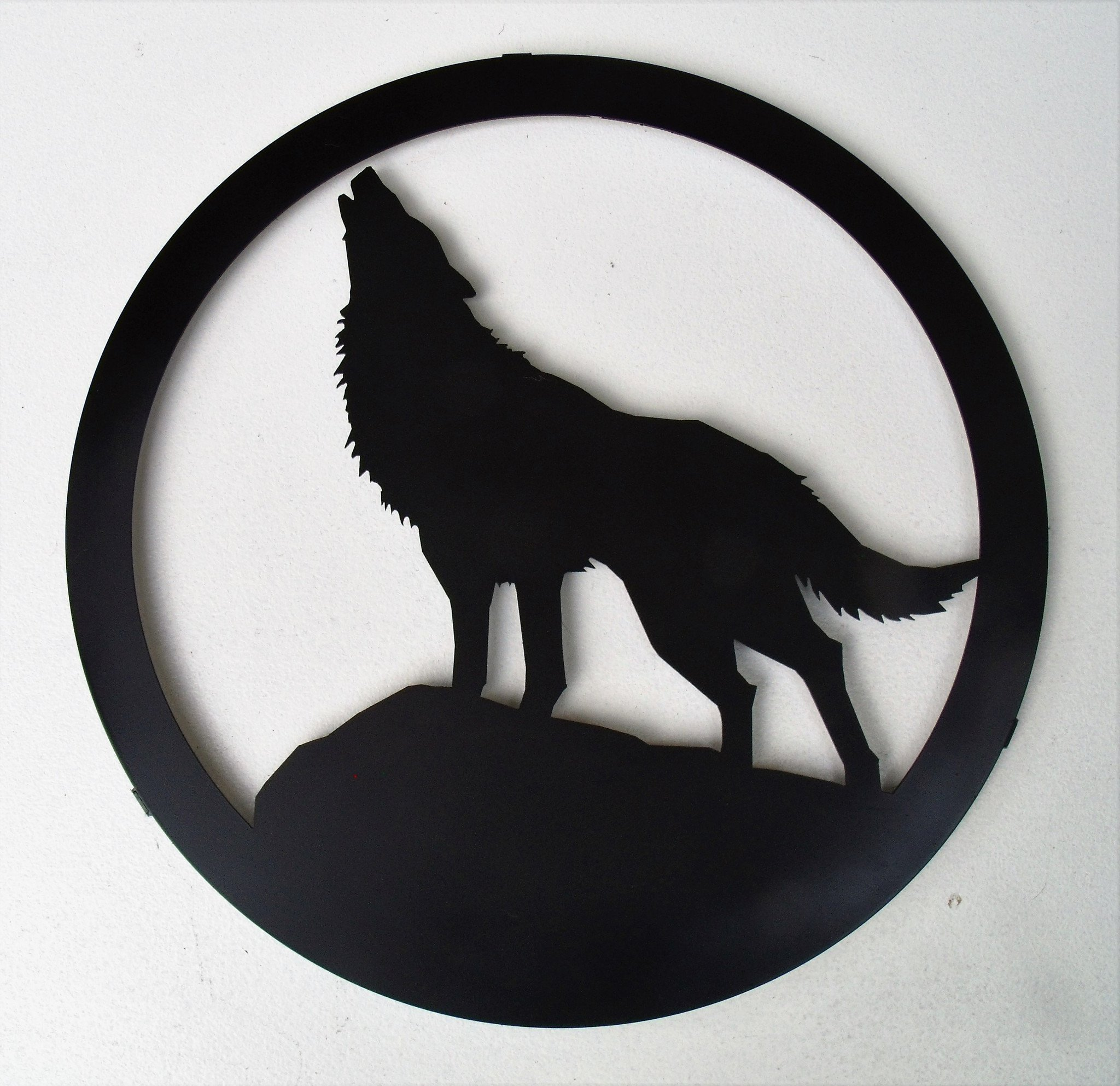 2048x1985 Howling Wolf Silhouette, 12