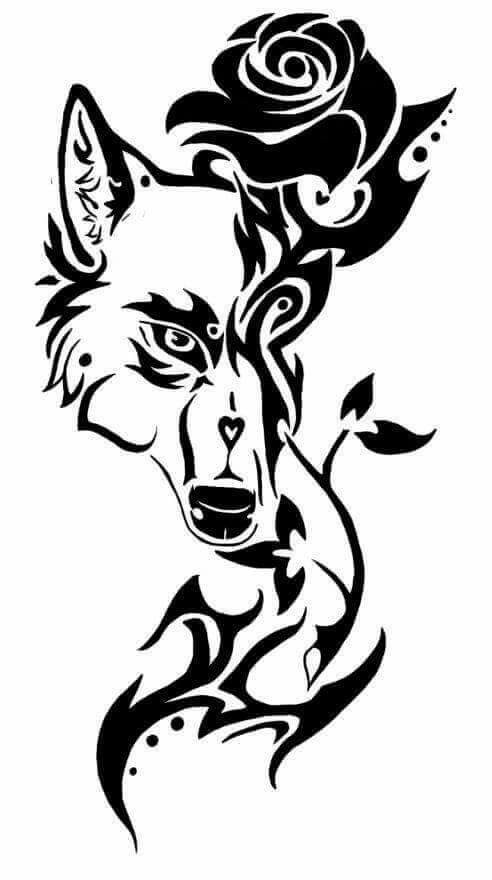 492x880 Pin by kendrah hardy on tattoo#39s Pinterest Wolf tattoos