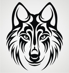 238x250 Tribal Wolf Head Vector Tribal