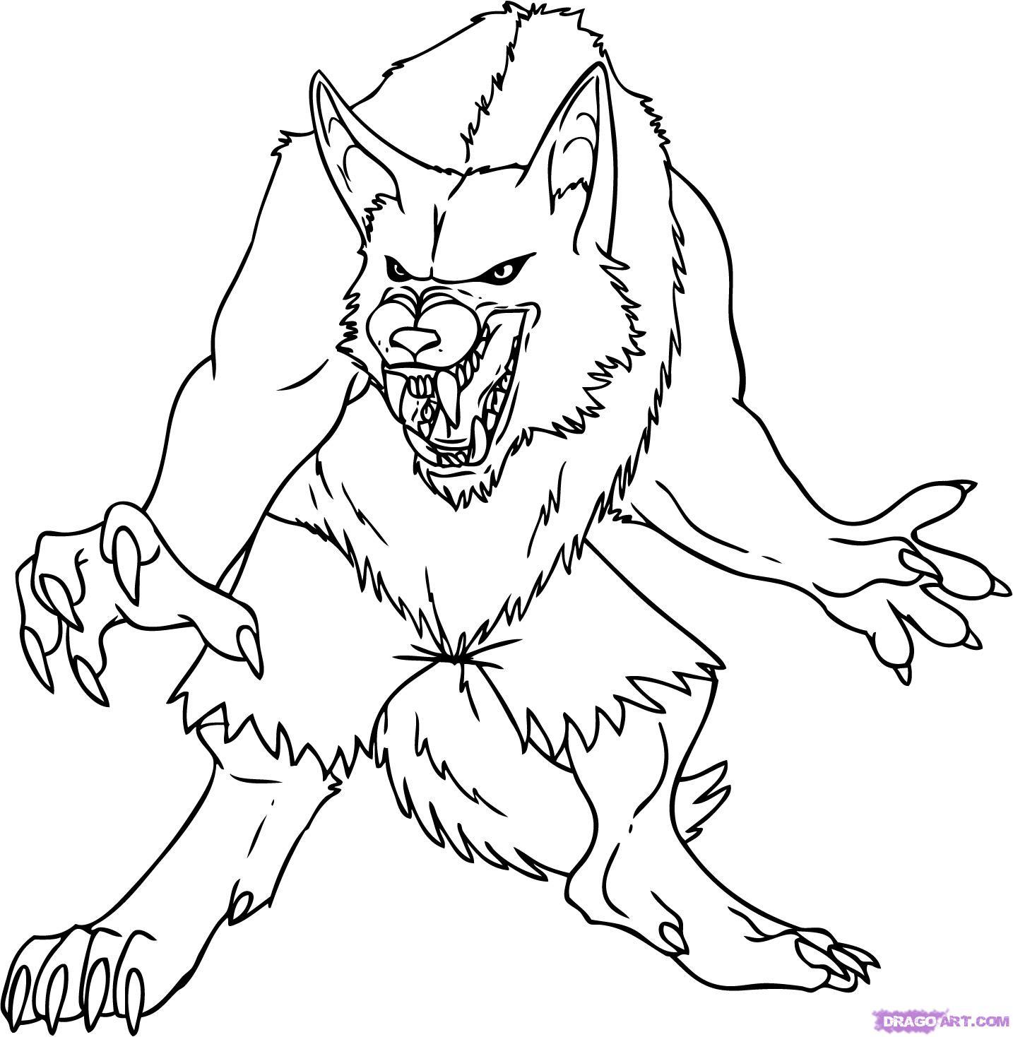 1434x1468 Wolf Halloween Drawings Halloween Amp Holidays Wizard