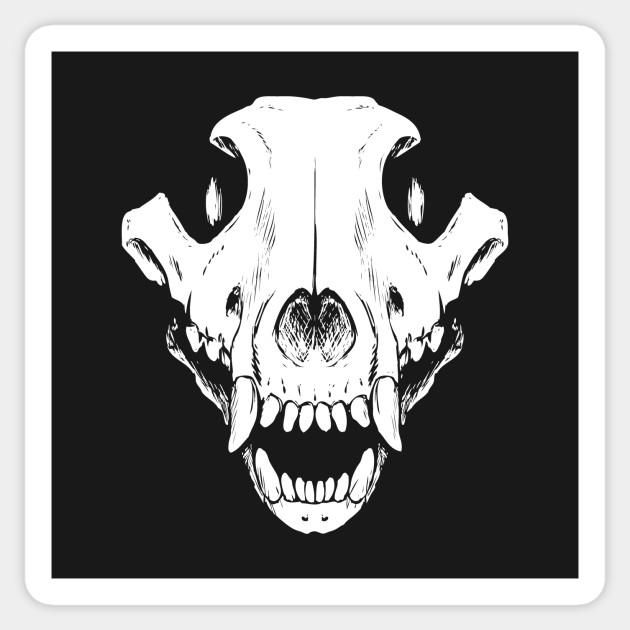 630x630 Wolf Skull