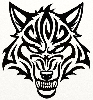 383x411 Tribal Snarl By Hareguizer