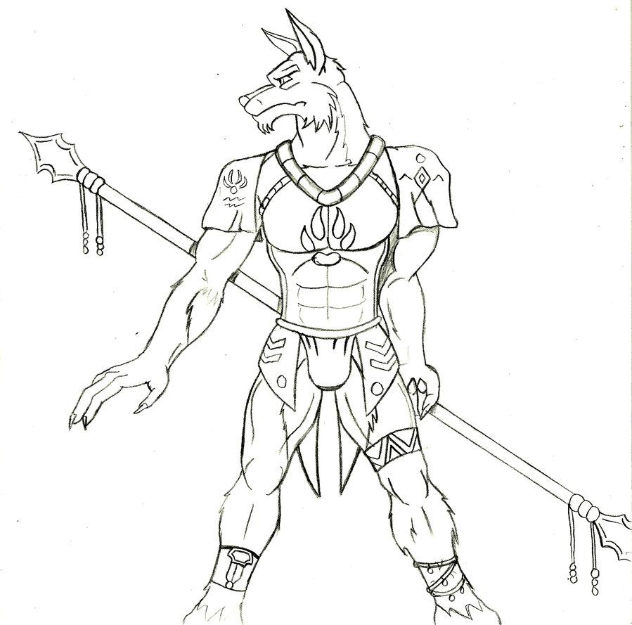 899x889 First Tribal Wolf By Mmcallister88