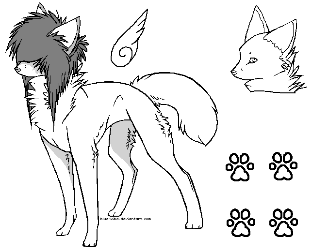 643x521 Scene Wolf With Wings
