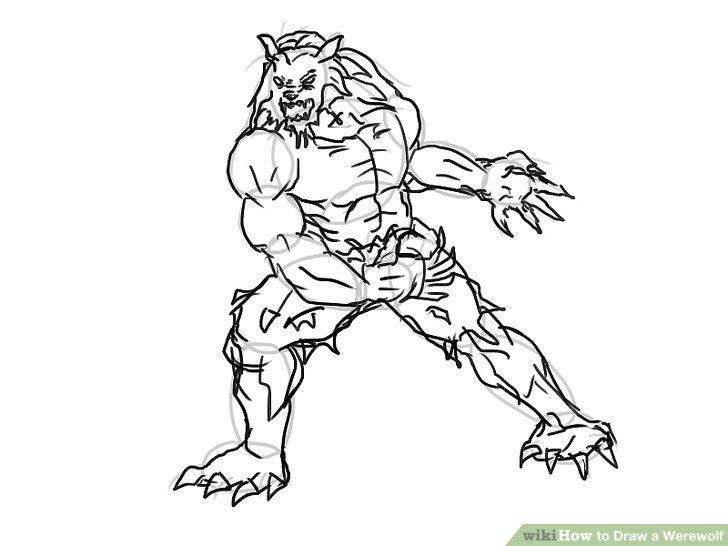 Wolfman Drawing