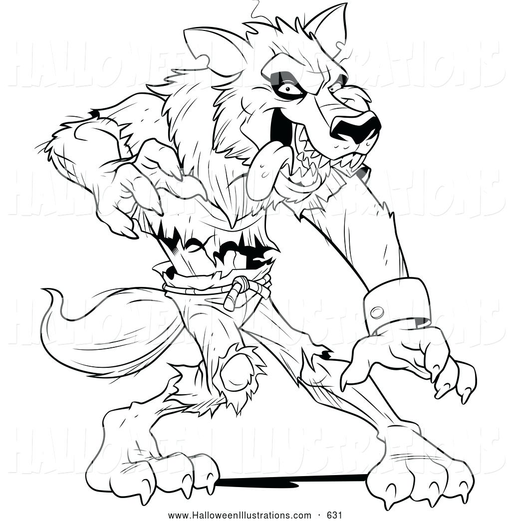 Wolfman Drawing at GetDrawings.com | Free for personal use Wolfman ...
