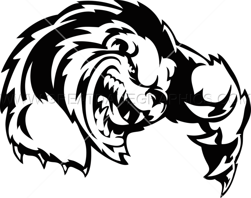 825x650 Growling Wolverine Production Ready Artwork For T Shirt Printing