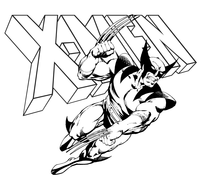 Wolverine Animal Drawing at GetDrawings.com | Free for personal use ...