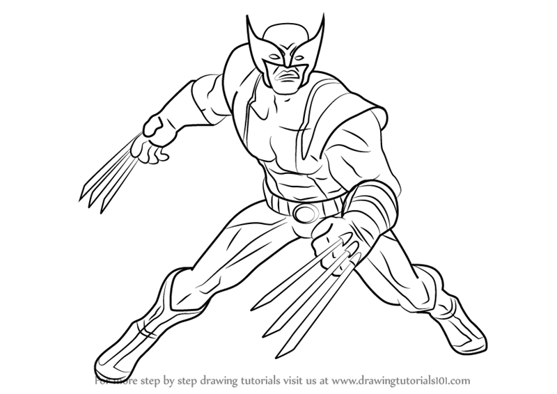 800x566 Learn How To Draw Wolverine From Marvel Contest Of Champions