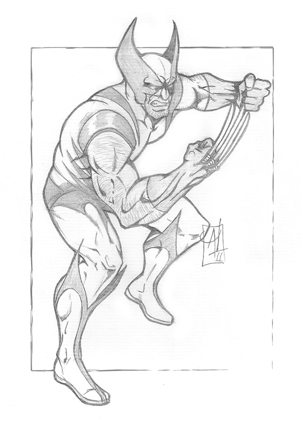 590x826 Recent Drawing Wolverine.