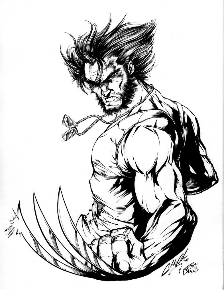 786x1016 Wolverine By Inker Guy