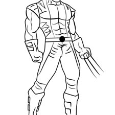 225x225 How To Draw Wolverine (With Pictures)