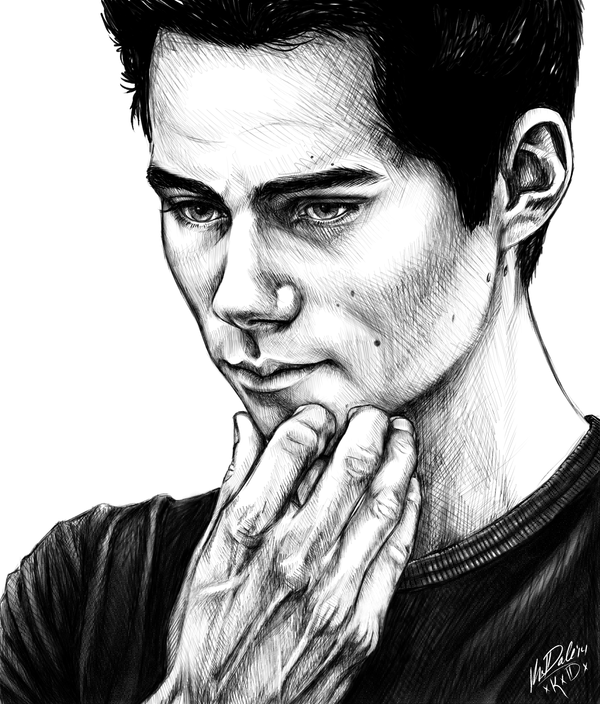 600x704 Dylan O'Brien In Pencil By On @