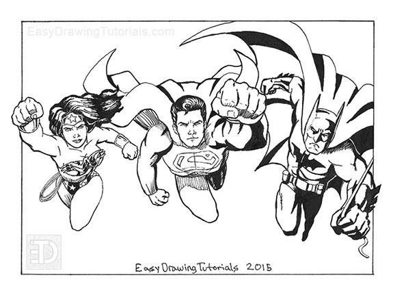 575x431 Wonder Woman Superman Batman