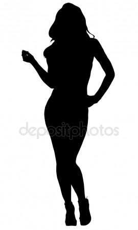 270x450 Sexy Woman Silhouette
