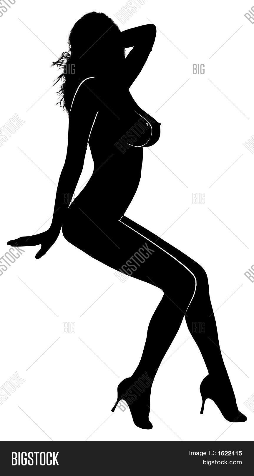863x1620 Woman Silhouette 012 Image Amp Photo Bigstock