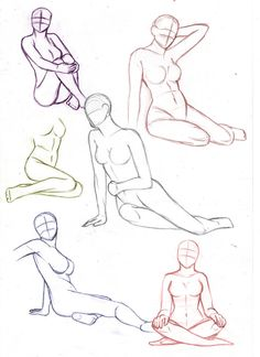 236x324 Poses. Sketches 29