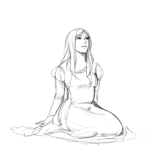 500x525 Sitting Princess By Crownedmoon