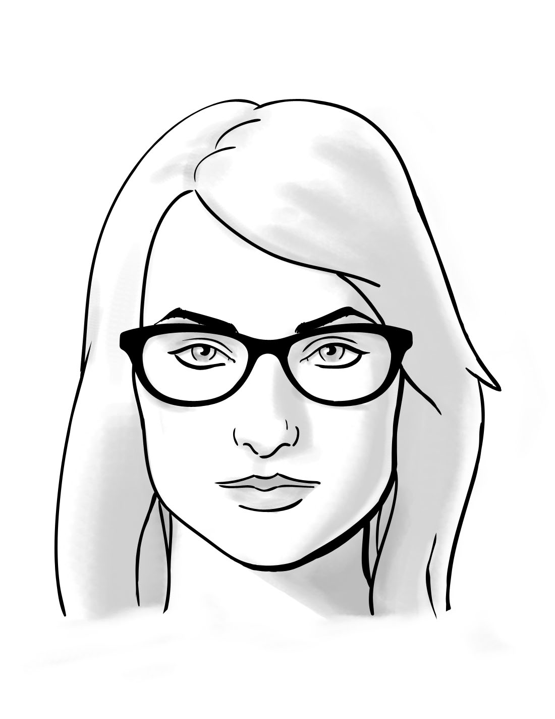 1100x1424 How To Choosing Glasses For Square Face Shapes