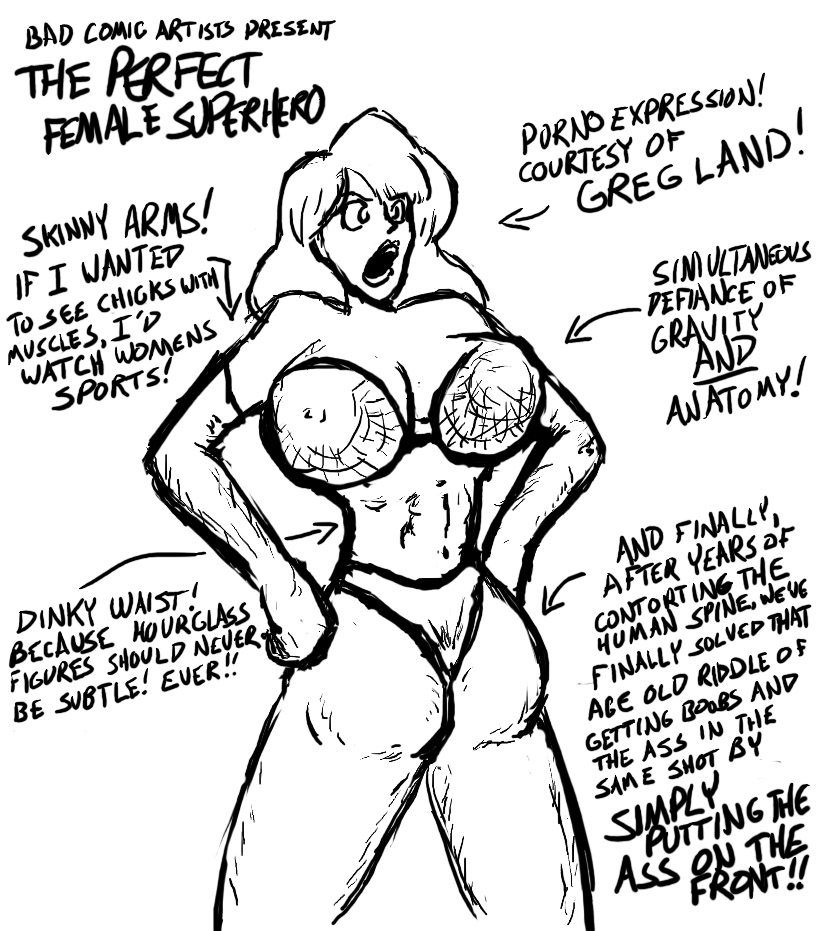 823x931 The Perfect Female Superhero By Neilsama