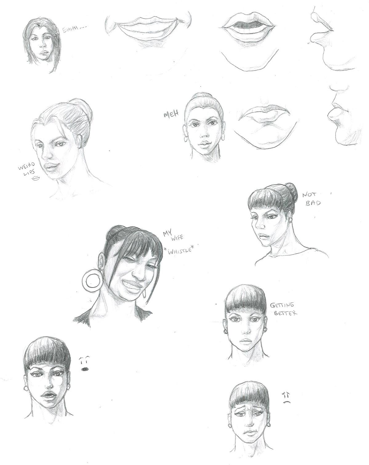 1199x1509 Studies Page 9 Gotta Keep Drawing!