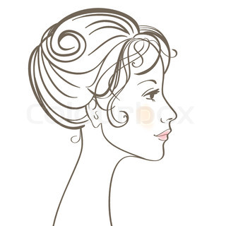 320x320 Vector Of Beauty Women Face Vector Illustration With Make Up