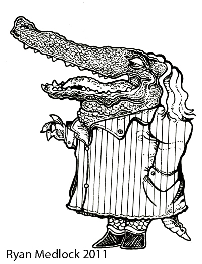 400x523 The Art Of Ryan Medlock John Norris Wood Drawings