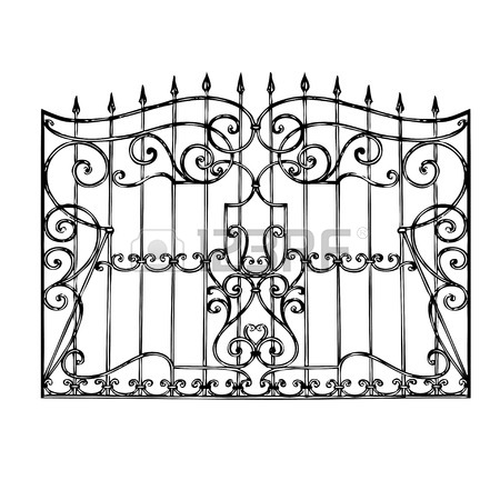 450x450 992 Rail Fence Stock Vector Illustration And Royalty Free Rail