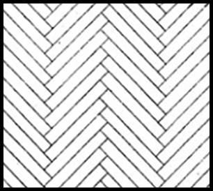 306x274 How To Lay Out A Herringbone Wood Floor Layout Herringbone