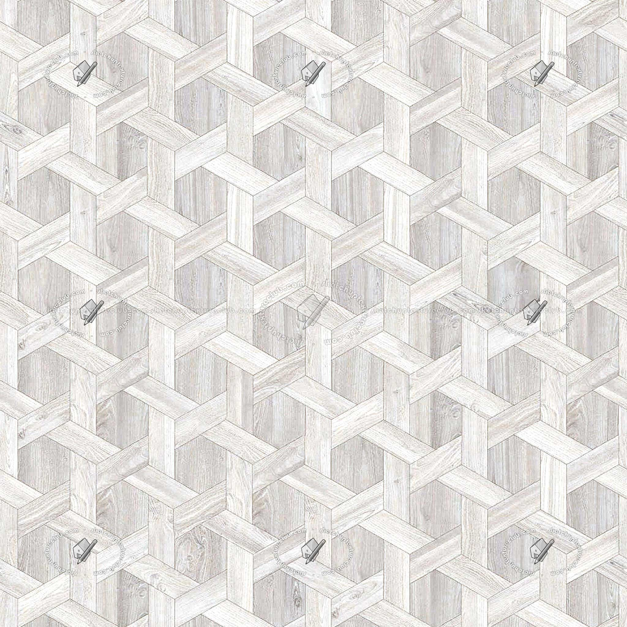 2048x2048 Wood Floor White Parquet Textures Seamless