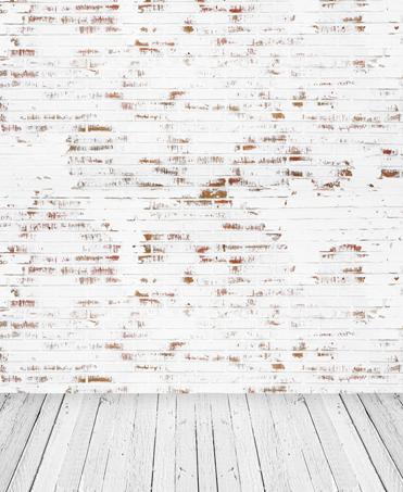 371x453 8x12ft Indoor Light Brick Wall Grey Wooden Floor Wedding Custom