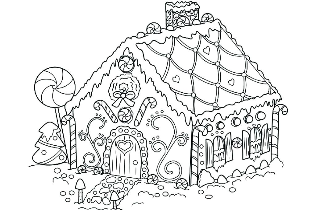 1024x682 Beautiful Houses Coloring Pages Kids House Made From Wood In Page