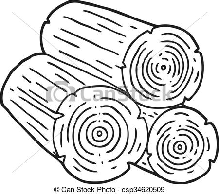 wood log drawing at getdrawings com free for personal use wood log