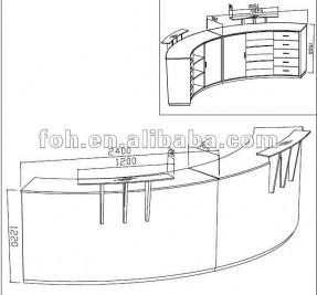 287x267 Buy Reception Desk