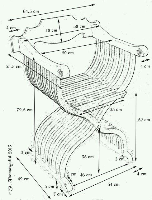488x640 931 Best Chair Plans Images On Woodworking, Chairs