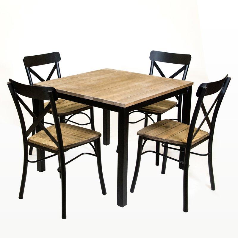 800x800 Standard Square Vintage Dining Table Amp Reviews Allmodern