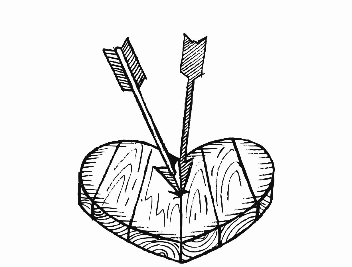 1234x934 Wooden Barrel Printable Image Illustration Sketch For Wooden