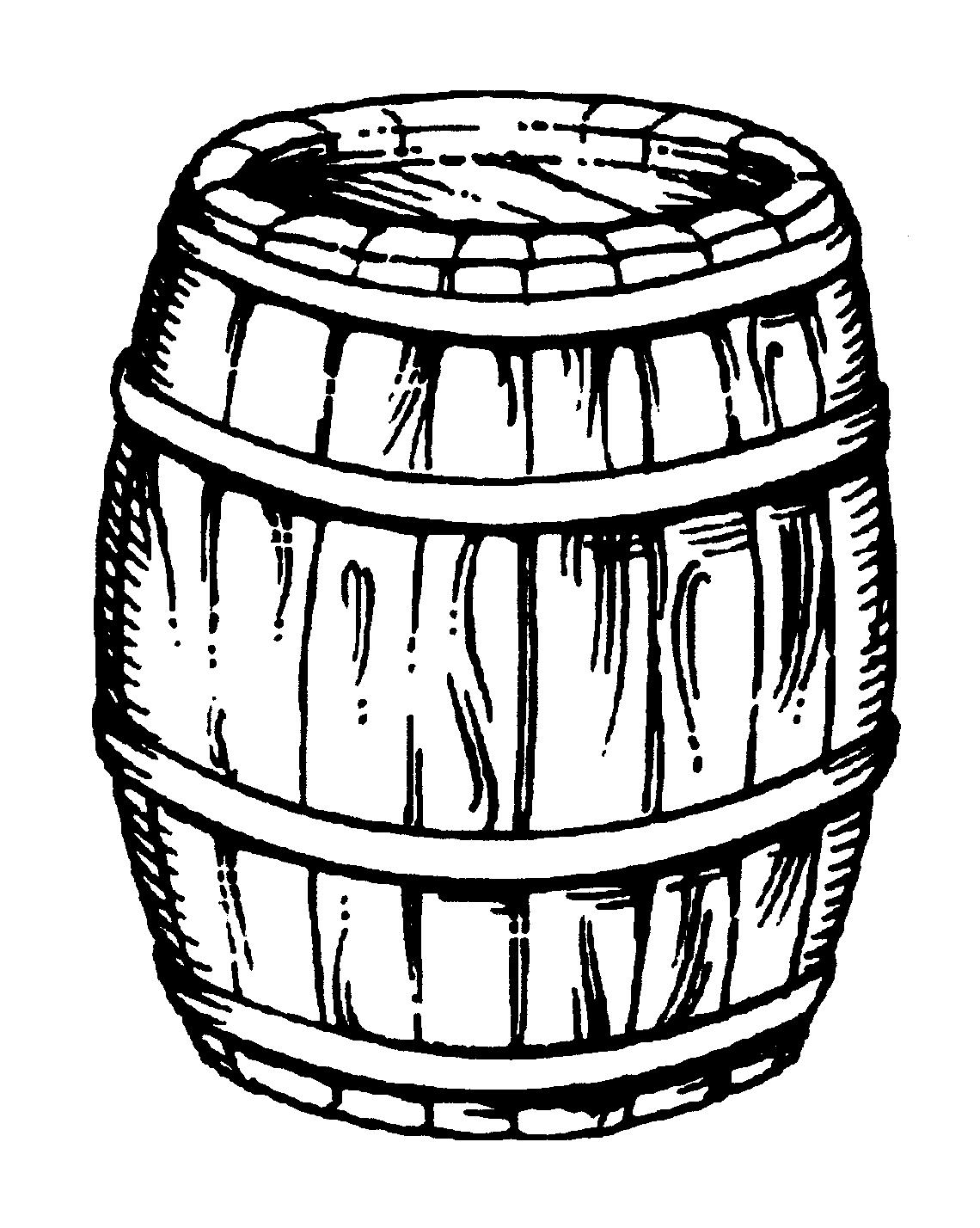 1140x1428 Barrel Line Drawing Wine Barrel Drawing