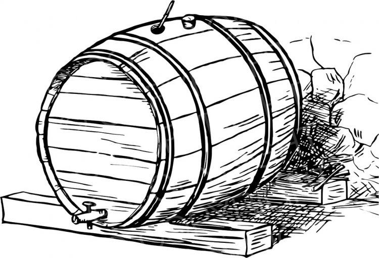 750x511 Barrel Clipart Beer